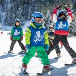 skiing in ski school Ardent
