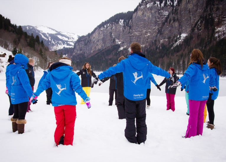 Scroll down to see our Chalet Team, Childcare and Resort Management positions!
