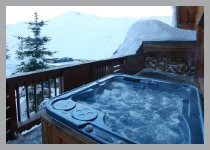 ski chalets in Reberty, France - Les Trois Vallees - The Three Valleys - Chalet Camille