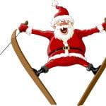 santa-on-skis